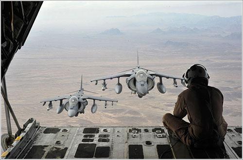 Afotando Harriers con estilo