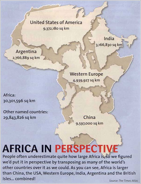 Africa in perspective por The Times Atlas