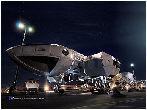 El Águila 4 de Espacio 1999 por Bill George
