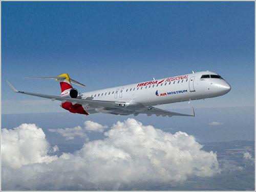 CRJ de Air Nostrum con nueva librea