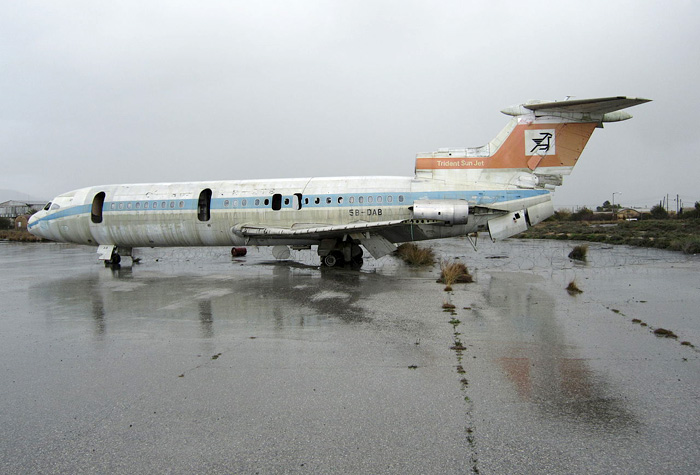 Airplane On Nicosia Airport