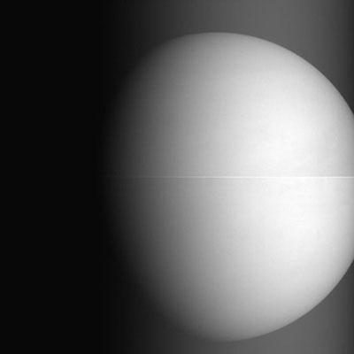 Venus visto por la cámara de 1 µm
