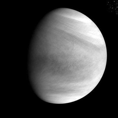Venus visto por la cámara ultravioleta