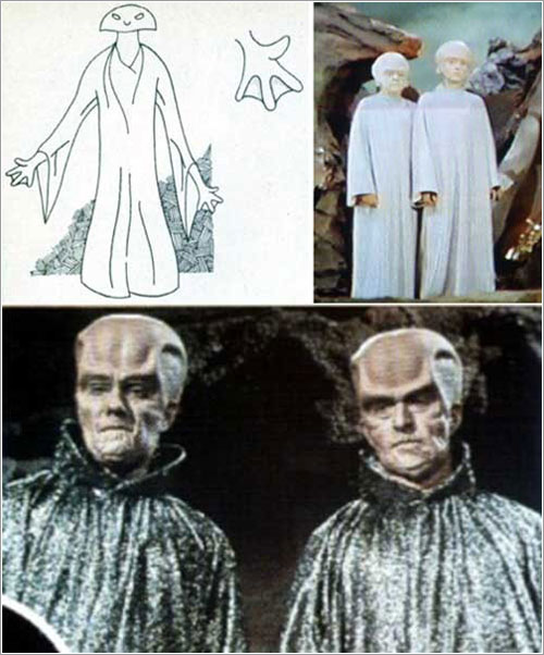 Alienígenas mal vestidos