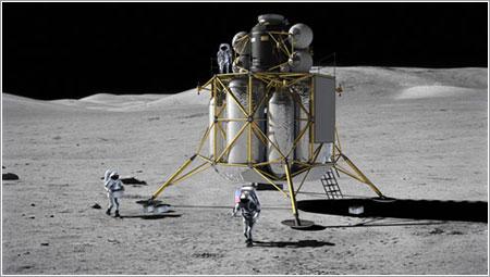 Altair en la Luna - NASA