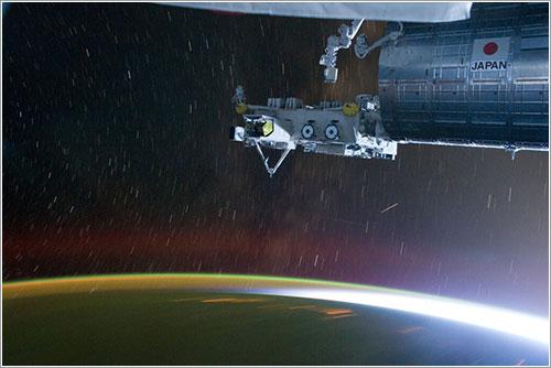 Amanecer en la ISS