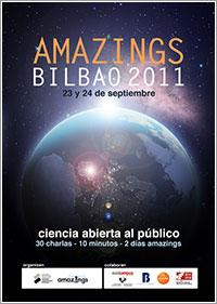 Póster Amazings Bilbao 2011