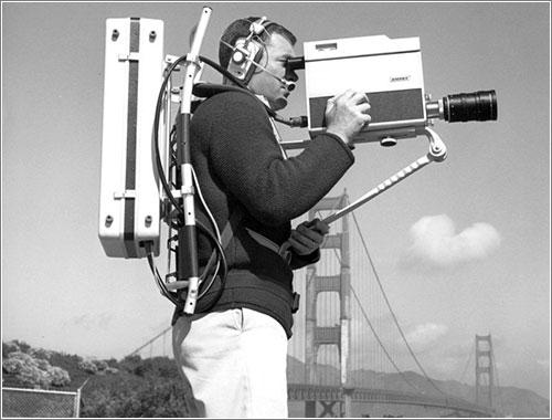 Ampex VR-3000 en acción
