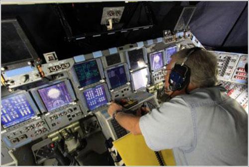 Apagando el Atlantis - NASA