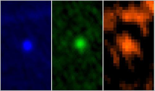 Apofis visto por el Herschel