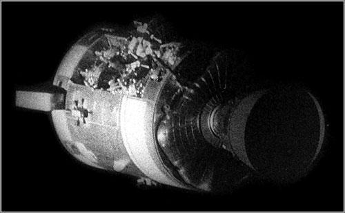 Módulo de servicio del Apolo 13 - NASA