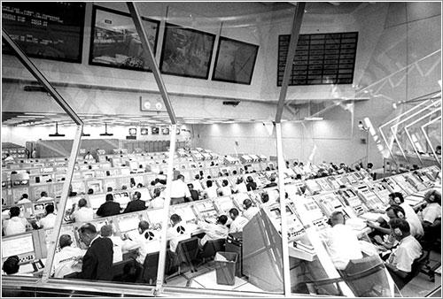 Sala de lanzamiento - NASA
