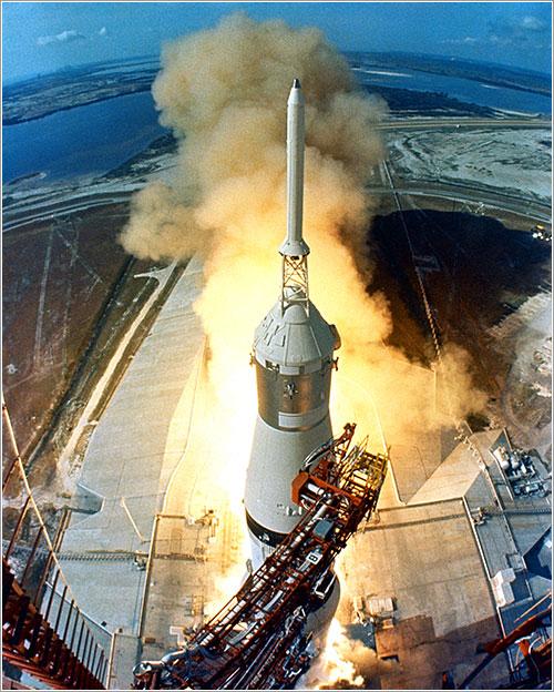 Despegue del Apolo 11 - NASA