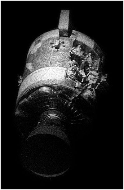 Módulo de servicio del Apolo 13