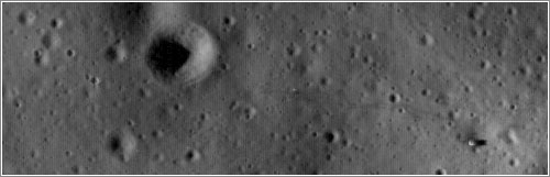 Apolo 14 visto por la LRO - NASA