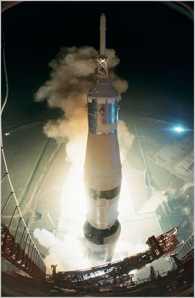 Despegue del Apolo 17 - NASA