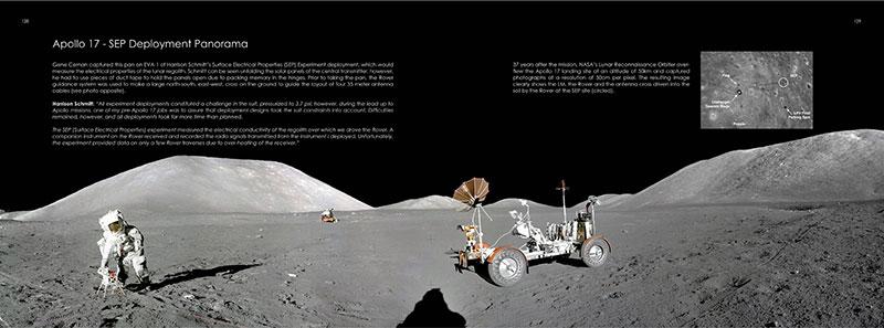 Despliegue del SEP del Apolo 17