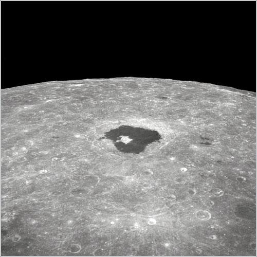 Crater Tsiolkovsky - NASA