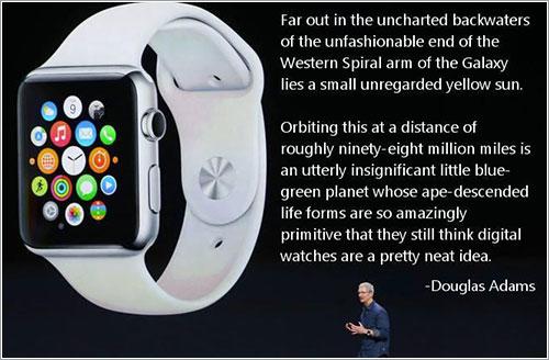 Douglas Adams y los relojes digitales
