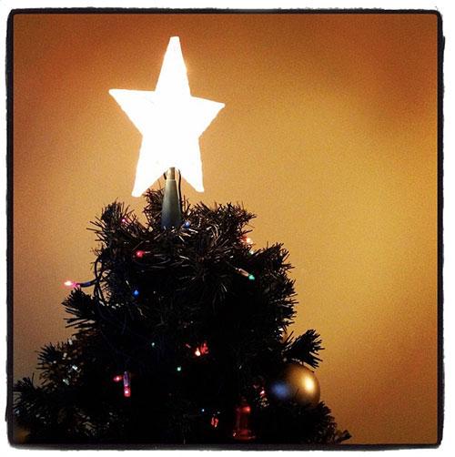 Árbol de navidad instagrameado
