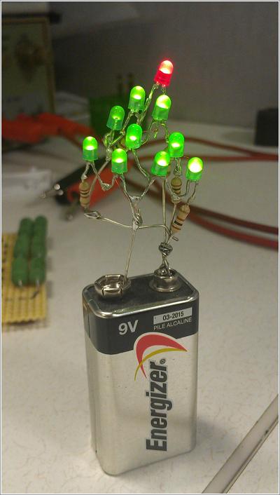 Arbol de navidad LED por jingle_balls123