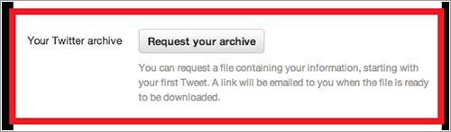 Archivo de tuits