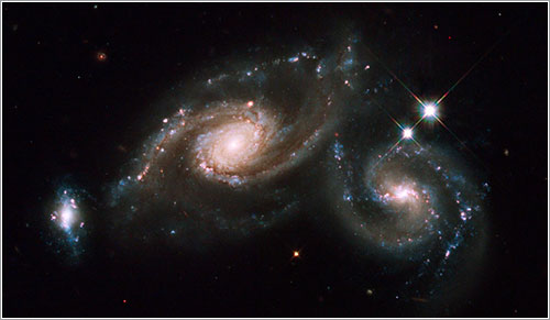 Galaxy Triplet Arp 274 NASA, ESA, M. Livio and the Hubble Heritage Team (STScI/AURA)