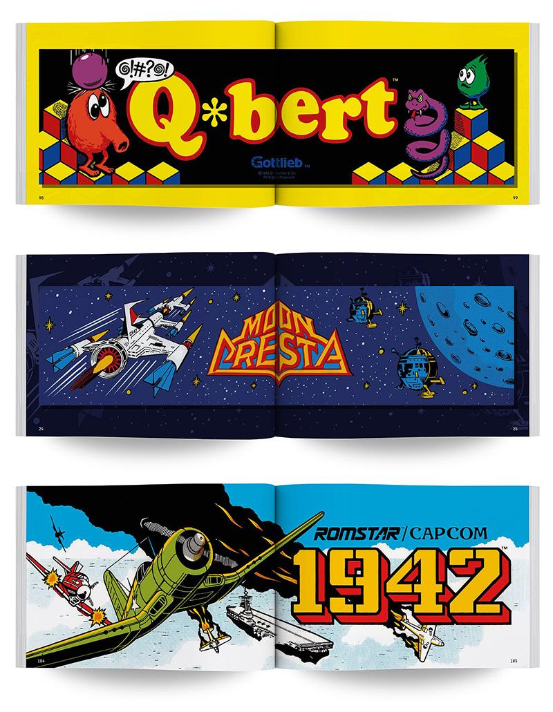 Algunos de los juegos que salen en Artcade