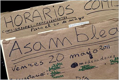 Asamblea 15M en La Coruña