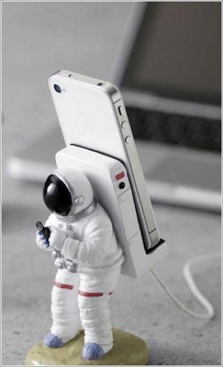 Astronauta llama a casa
