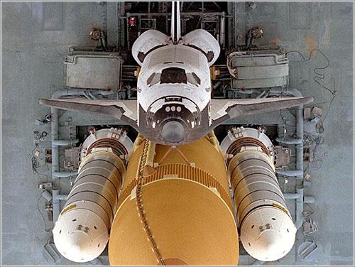 Atlantis en 1996 - NASA