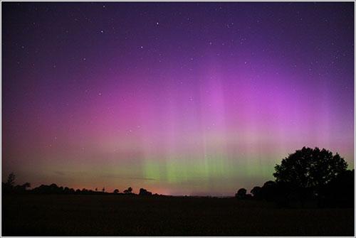 Aurora borealen Kiel por Jan Haltenhof