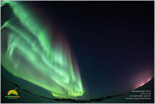 Aurora en el 28 de febrero
