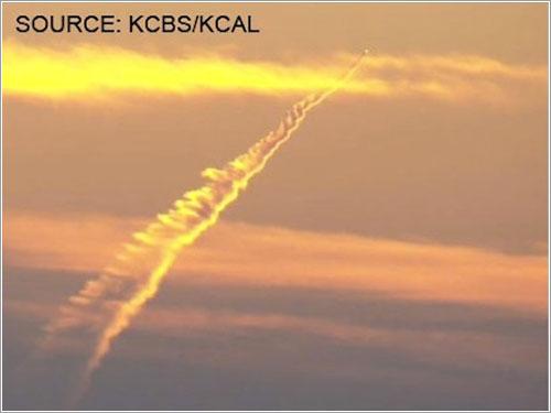 El avión misil de California - KCBS/KCAL