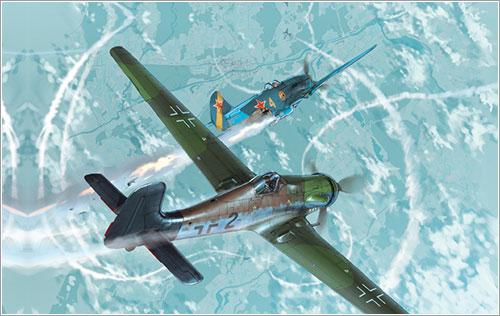 Aviones en acción en el Gran Duque
