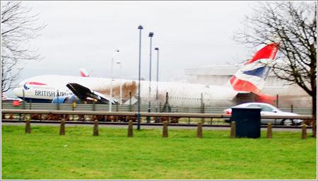 777 de British Airways en Heathrow