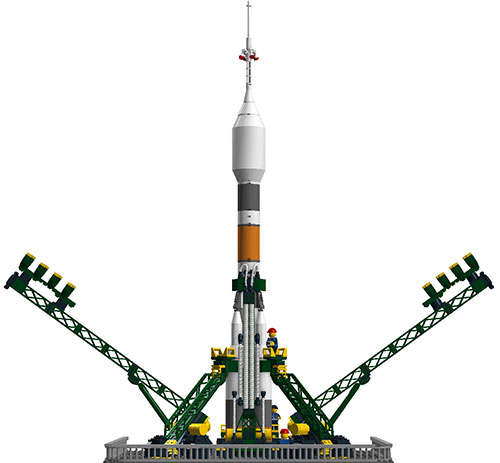 Baikonur Cosmodrome Launchpad por XCLD