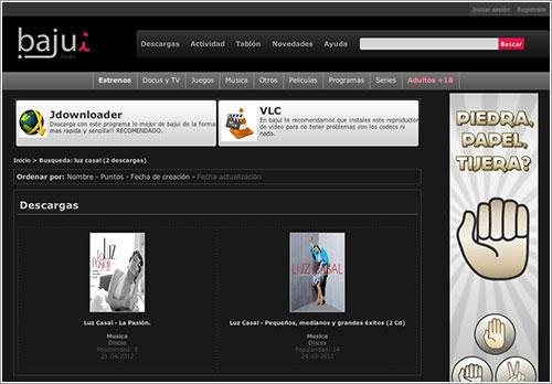 Captura de pantalla de Bajui