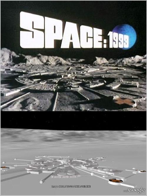 Base lunar Alfa por Gerardo Paz