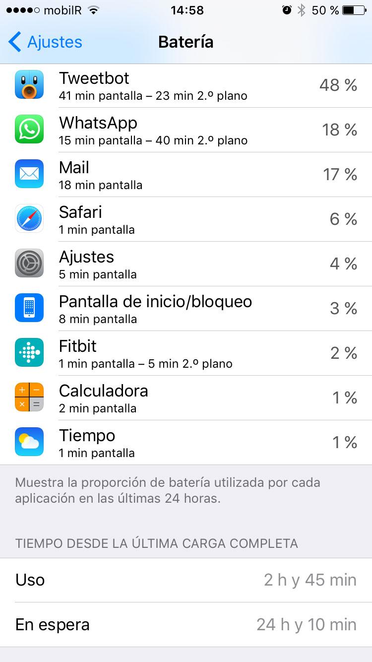 Batería atómica al 50 %