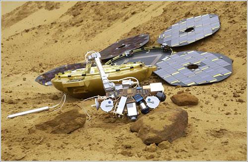 Beagle 2 en Marte