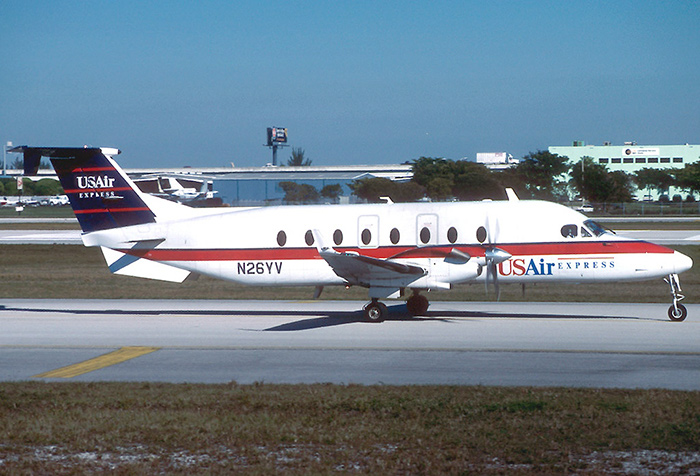 Beech 1900D USAir Express Air Midwest AN1076504 1