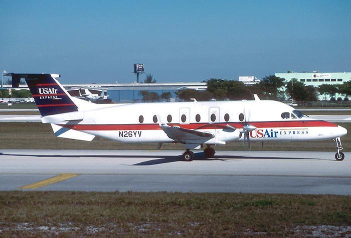 Beech 1900D USAir Express Air Midwest AN1076504 1