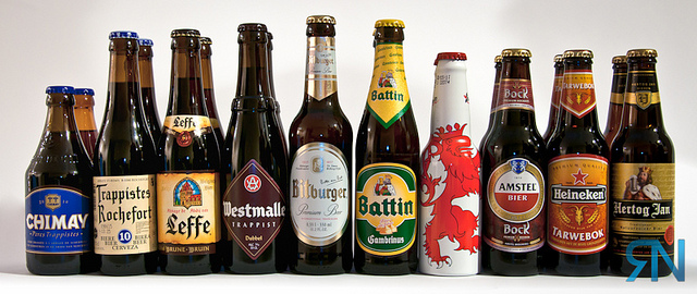 Beers from around Europe (cc) Ryan Neufeld