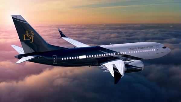 Boeing BBJ panoramic window