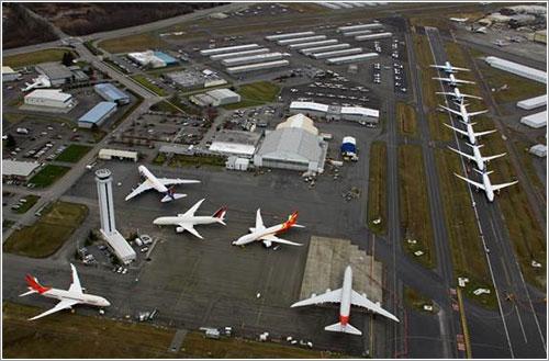 Boeing acumula 787 acabados que no puede entregar