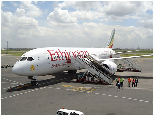 Boeing 787 de Ethiopian