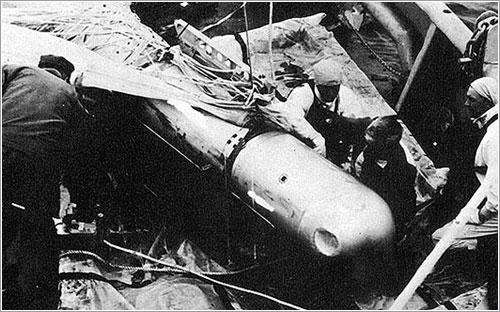 Una de las bombas de Palomares