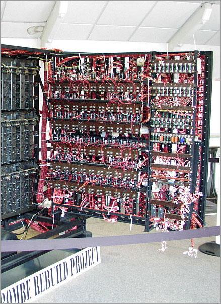Parte posterior del panel de discos