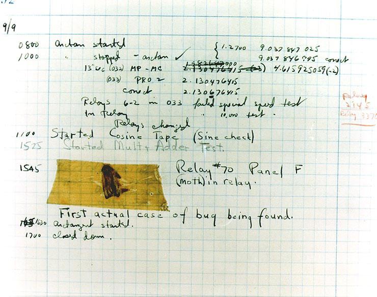 El Bug de Grace Murray Hopper